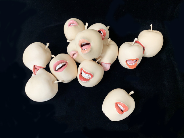 , 'Apples x 5,' 2019, S.E.A.