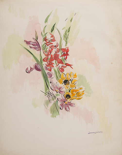 , 'Untitled (Red and Yellow Flowers),' ca. 1940, Francis M. Naumann Fine Art