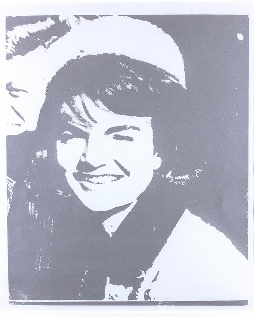 Andy Warhol, 'Jacqueline Kennedy I (Jackie I)', 1966, Print, Serigraph on paper, Bertolami Fine Arts