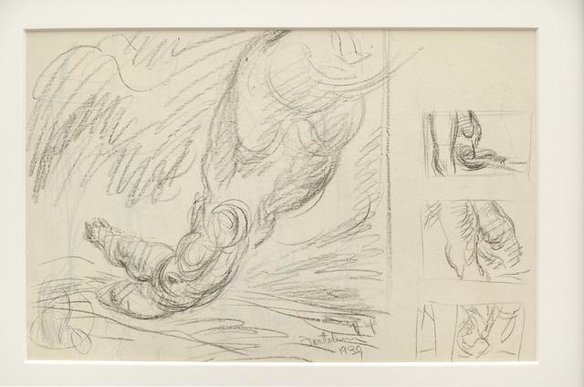 , 'Untitled Study,' 1939, Louis Stern Fine Arts