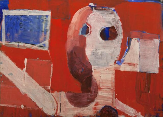 , 'Head on Red,' 2015, Watters Gallery
