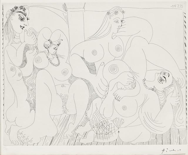 Pablo Picasso, 'Autour du Bain Turc, avec un petit intrus 1970, plate 49 from Séries 156', 1978, Skinner