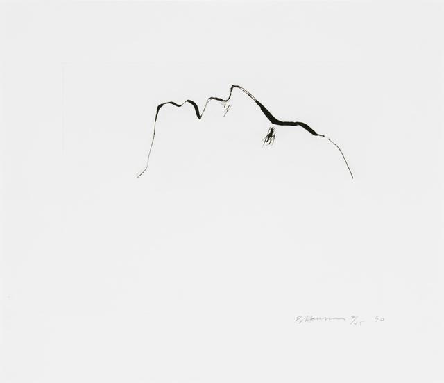 Bruce Nauman, 'Untitled (Head)', 1989, Brooke Alexander, Inc.