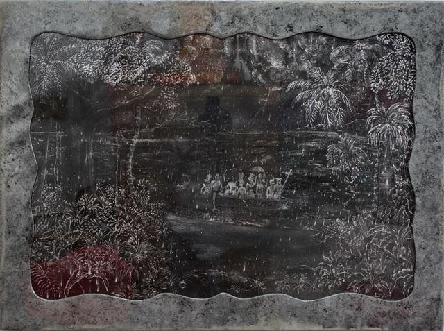 , 'Etude Bierdstadt,' 2013, Pan American Art Projects