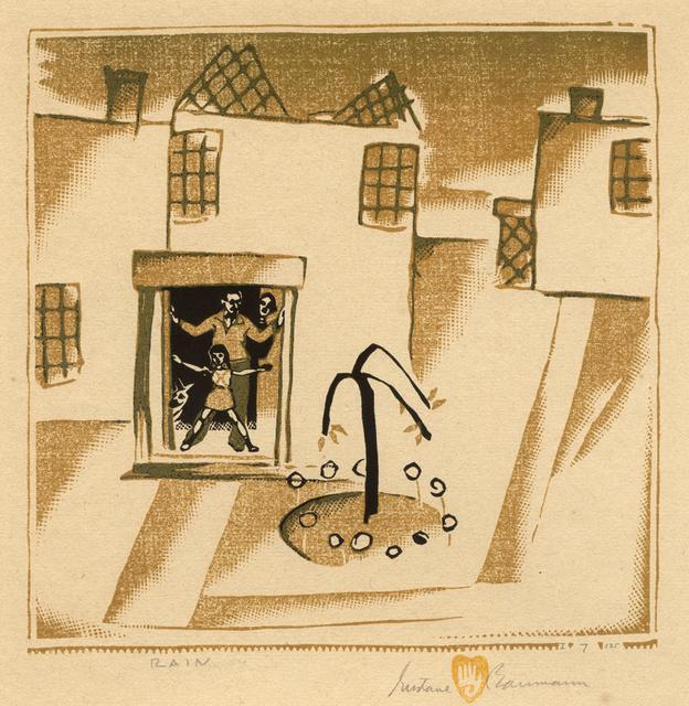 , 'Rain,' 1938, Conrad R. Graeber Fine Art