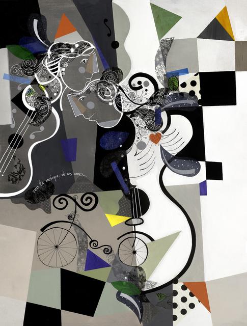 , 'Vers la musique de nos ames,' 2016, Eden Fine Art