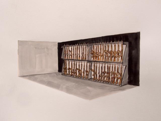 , 'Armería Maza,' 2018, Yam Gallery