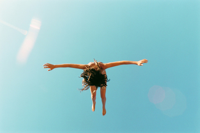 Ryan McGinley, 'Falling and Flare', 2008/09, Photography, C-print, CHRISTOPHE GUYE GALERIE
