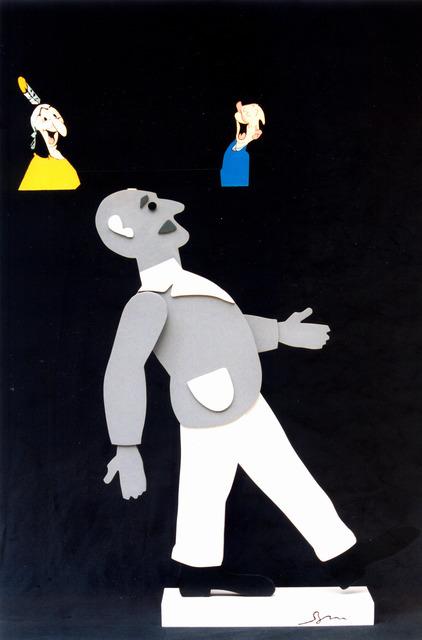, 'Tribute to Dante Quinterno,' 2003, Mazel Galerie