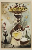 Adolf Arthur Dehn, Haitian Scene #7