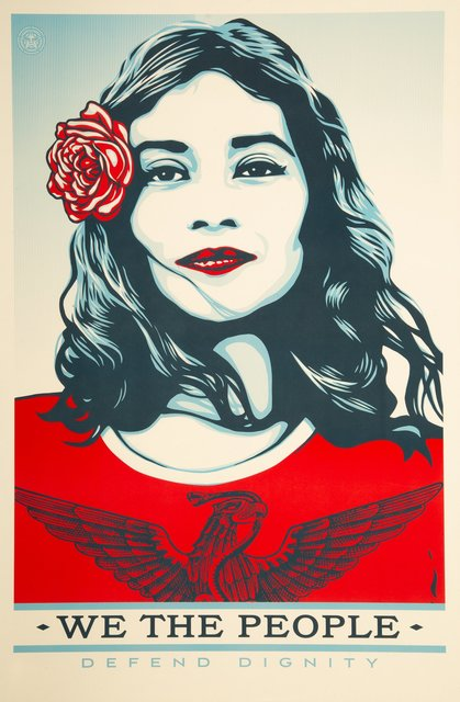Shepard Fairey, 'We the People, set of three', Heritage Auctions