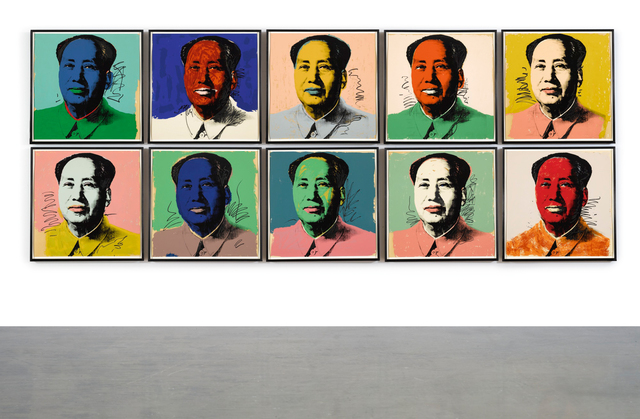 Andy Warhol, 'Mao (F. & S. II.90-99)', 1972, Sotheby's: Contemporary Art Day Auction