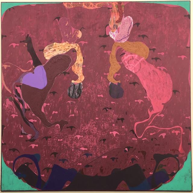 , 'Cliff Edge Garden Path,' 2017, Galerie Kornfeld