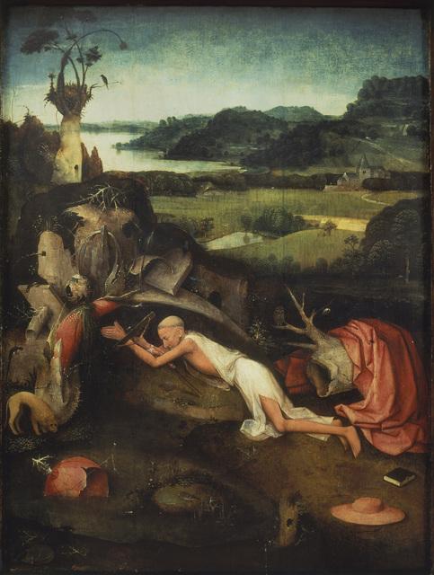 , 'Saint Jerome at Prayer,' 1490-1500, Museo Nacional del Prado