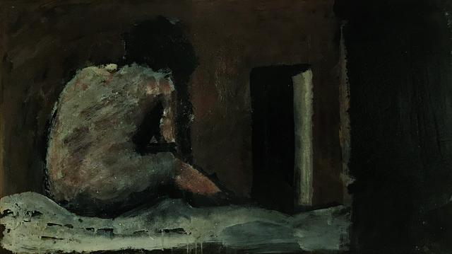 , 'Composition with figure,' ca. 1945, Brun Fine Art