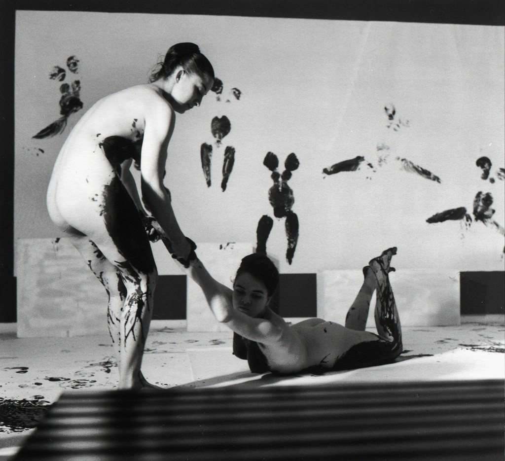 Yves Klein, 'Performance 'Anthropometries of the Blue Epoch'  ,' March 9-1960, ARS/Art Resource