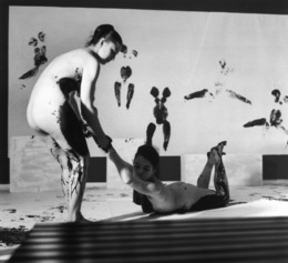 Yves Klein, 'Performance 'Anthropometries of the Blue Epoch'  ', March 9-1960, Art Resource