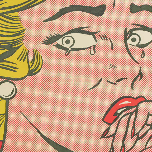 Roy Lichtenstein, 'Crying Girl (mailer)', 1963, Print, Offset lithograph on wove paper, Rago/Wright
