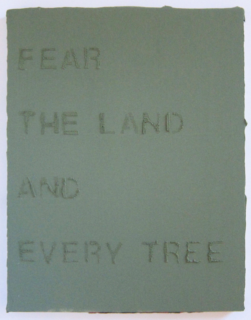, 'Fear the Land,' 2016, Albert Merola Gallery