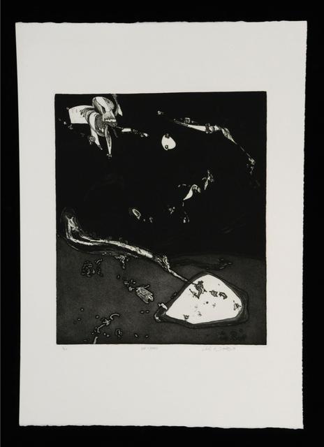 John Dowell, 'Hat and Beard', 1966, Print, Etching, Stanek Gallery