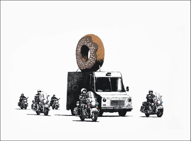Banksy, 'Chocolate Donuts', 2009, Castle Gallery