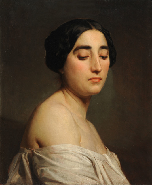 , 'Disdain,' 1850, American Federation of Arts