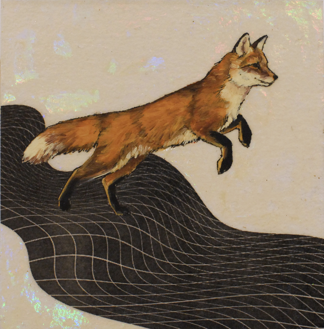 Alexis Kandra, 'Leaping Fox', 2019, Deep Space Gallery