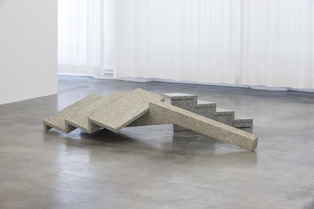 , 'Saison (große Treppe) // Loch (kleine Treppe),' 2015, Kunstverein Reutlingen