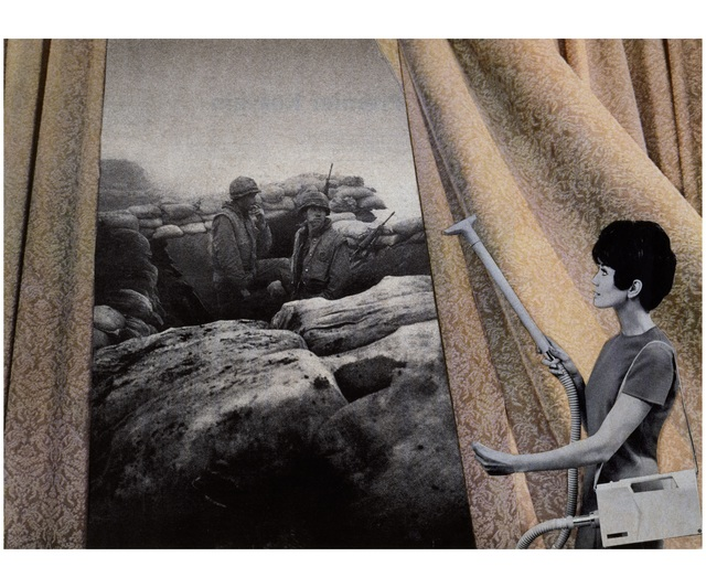 , 'Cleaning the Drapes,' 1967-1972, Seattle Art Museum