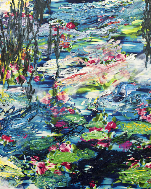 , 'Water Lilies (after Monet),' 2016, Godel & Co.