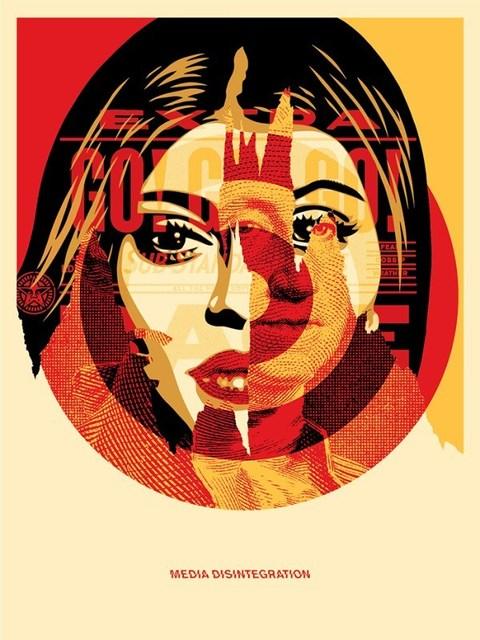 Shepard Fairey (OBEY), 'Media Target', 2016, Dope! Gallery