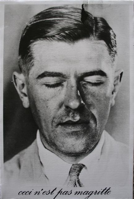 , 'Ceci n'est pas Magritte,' 1991, Keitelman Gallery