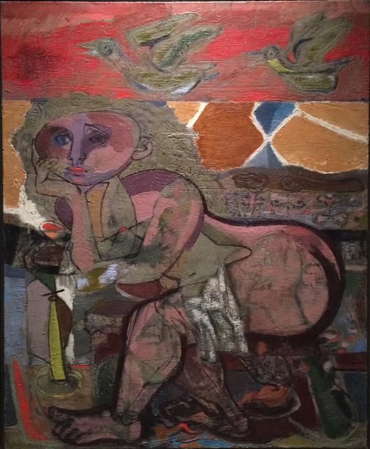 , 'Sitzender weiblicher Akt,' 1947, Galerie Schwarzer