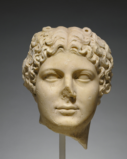 'Portrait Head of Agrippina the Younger',  about 50, J. Paul Getty Museum