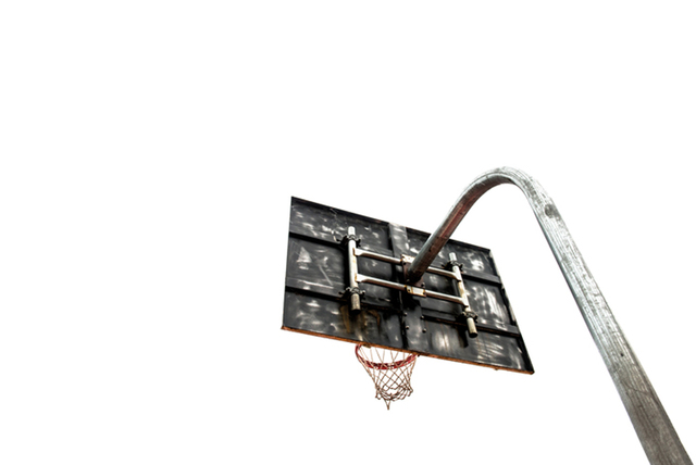 , 'LBJ - LeBron James Childhood Hoop,' 2012, Winston Wächter Fine Art