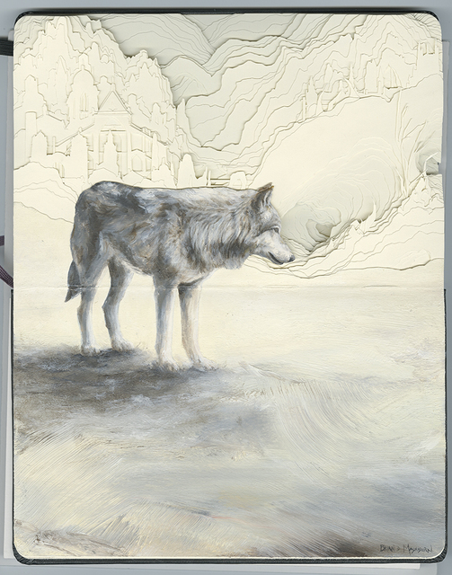 , 'Wolf,' 2019, Hashimoto Contemporary