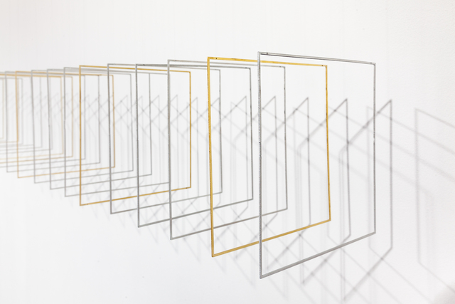 , 'Tetralineados Alu Brass 154,' 2017, RGR+ART