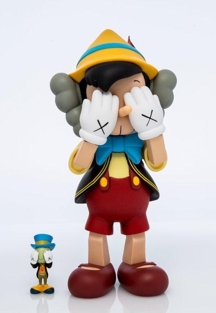 KAWS X Disney, 'Pinocchio & Jiminy Cricket', 2010, Heritage Auctions