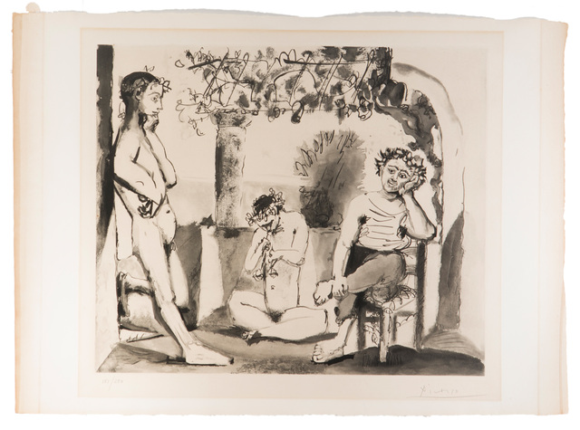 after Pablo Picasso, 'Bacchanale', 1955, John Moran Auctioneers