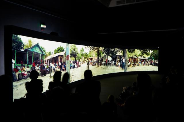 , 'Halka/Haiti. 18°48'05″N 72°23'01″W (Installation view),' 2015, 56th Venice Biennale