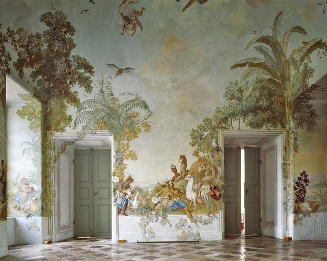 , 'Gartenpavillon Stift Melk, AT, Fresko von Johann Wenzel Bergl, Nr. 1,' 2008, Christine König Galerie