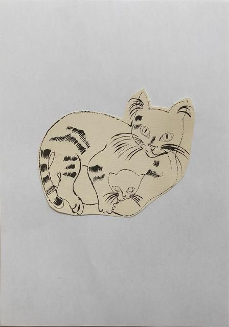 Andy Warhol, '25 Cats Name[d] Sam and One Blue Pussy IV.62', ca. 1954, Print, Offset lithograph, Hamilton-Selway Fine Art