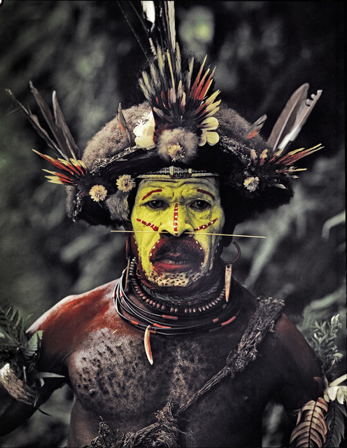 , 'Kati Hirawako, Huli Wig men Ambua Falls, Tai valley Papua New Guinea,' 2010, Rademakers Gallery