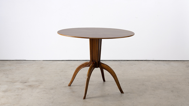 , 'Round Occasional Table,' ca. 1940, Hostler Burrows