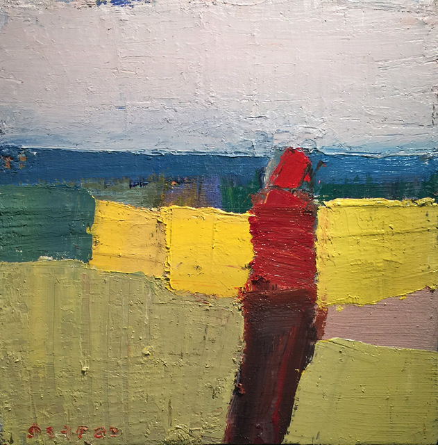 , 'Red Wrap,' 2018, Sue Greenwood Fine Art