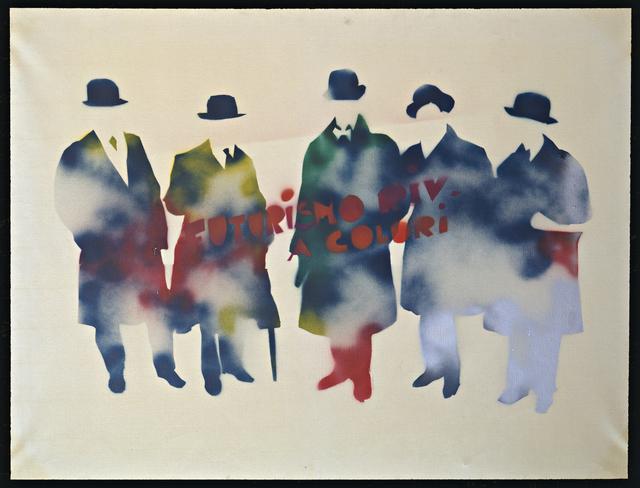 , 'Futurismo rivisitato a colori,' 1967-1970, Collezione Maramotti
