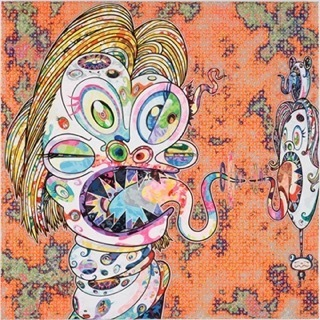 Takashi Murakami, 'Homage to Francis Bacon (Study for Head of Isabel Rawsthorne and George Dyer)', MSP Modern