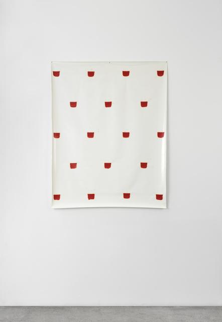 , 'Empreintes de pinceau n°50 à intervalles réguliers de 30 cm,' 1977, Marian Goodman Gallery