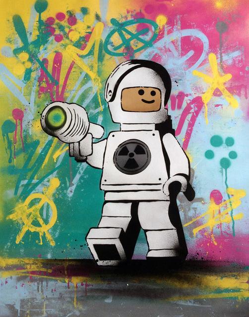 , 'Lego Meltdown,' 2017, ZK Gallery