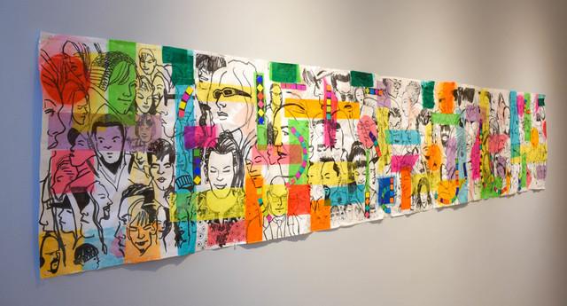 , 'Subway Emotion I,' 2017, Carter Burden Gallery